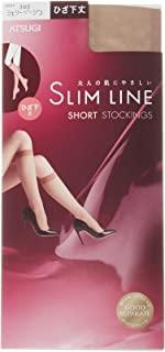 (厚木)ATSUGI 长筒袜 SLIM LINE (SLIM LINE) 系列 膝下長度 长筒袜 〈3双装〉