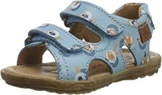 Naturino 男童 Sky 露趾凉鞋,粉红色