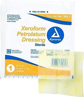 Dynarex Xeroform 汽油*细网纱敷料*护理,25 片