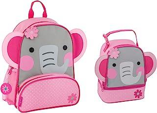 Stephen Joseph Sidekick 大象背包和女孩午餐伙伴