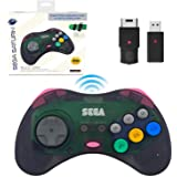 retro-bit SEGA Saturn® 8-Button Arcade Pad 2.4GHz Wireless S…