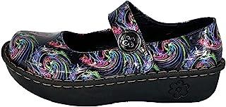 ANGIE UNIFORMS 女式工作鞋适用于**、厨房和酒店。防滑耐用木屐。