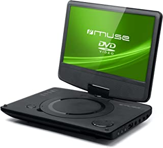 Muse M-970 DP 便携式 DVD 播放器(DVD±R/RW,CD,CD-R/RW,MP3,JPEG,DivX)黑色