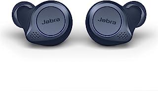 Jabra 捷波朗 Elite Active 75t True 无线蓝牙耳塞,*蓝 – 无线耳塞,适用于跑步和运动,含充电盒,含24小时电池,主动降噪运动耳塞