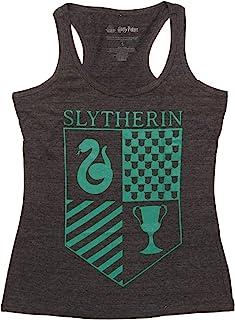 哈利波特 Slytherin Crest 青少年工字背心上衣