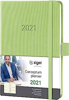 Sigel C2169 周历 2081 约 A6,硬壳,浅*,概念 - 其他型号