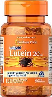 Puritans Pride 普丽普莱 软胶囊,含玉米黄质叶黄素,20毫克,120粒