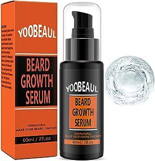 Beard Growth Oil 精华液 60 毫升,天然*,丰盈,浓密,男士面部*护理,胡须油,胡须生长,面部*增稠护发素和增强剂 素食  2 盎司瓶装