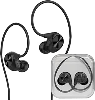 Storite Letv LeUIH101 3.5 毫米运动耳机入耳式耳塞立体声深低音 3.5 毫米插孔带麦克风麦克风麦克风无线遥控,适用于 LeEco、iPhone、iPad、安卓智能手机
