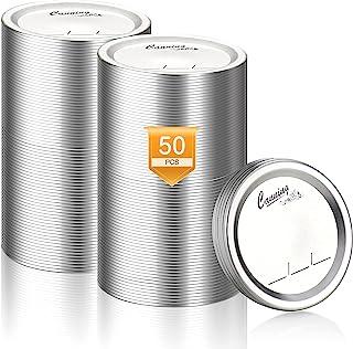 罐装罐盖 – 常规口罐盖 – 球罐罐盖口 – 分体式金属梅森罐盖用于罐装食品级材料 – * 适合和密封,适用于普通口罐 – 不含 BPA