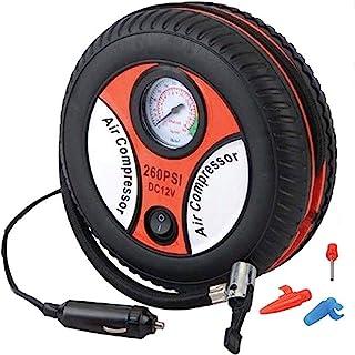 DDL 电动充气泵 车用 DC 电源 压缩机 橙色 (轮胎、球、气球、救生圈、自行车也OK)