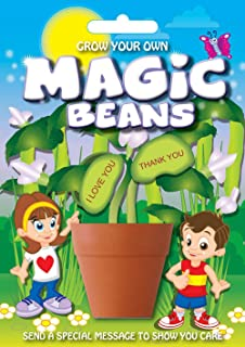 Mystic Moments Fun Seeds | Grow Your Own Magic Beans-谢谢您,多色,均码
