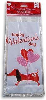 Valentine 主题礼品袋 - 香肠狗 - 20 包