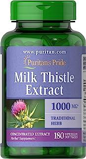 Puritans Pride 4:1 1000 Mg Softgels, 180 Count