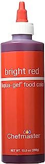 Chefmaster Liqua-Gel 食品颜色,10.7 盎司(约 297.7 克),亮红色