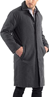 Alpine swiss Zach 男士羊毛风衣及膝外套