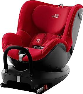 Britax 宝得适 Römer DUALFIX 2 R,可旋转儿童汽车座椅 Group 0+/1(出生 - 18 千克),火红色