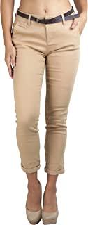 ToBeInStyle 女式经典编织商务休闲裤带腰带