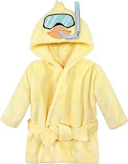Hudson Baby 中性款婴儿哈德逊婴儿中性款婴儿毛绒泳池和沙滩浴袍罩衫,水鸭