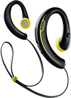 Jabra Sport Plus 无线蓝牙立体声耳机,零售包装,黑色/黄色