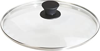 """Lodge 洗碗机*钢化玻璃盖适用于调味铸铁锅和烧烤锅 透明 10.25"""" GL10"""