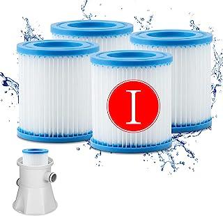 WOMIR 泳池过滤器滤芯 - 滤芯过滤器,滤芯配件,适用于 300 加仑(约 300 升)过滤泵
