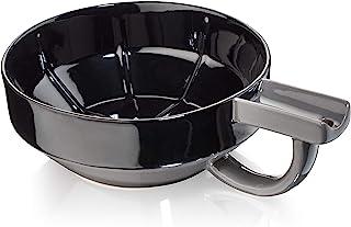 Fine Accoutrements 瓷器 Shaving Lather Bowl 黑灰色 300 克