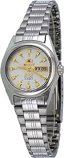 Orient BNQ1X003W 女士 3 星不锈钢银色表盘自动手表