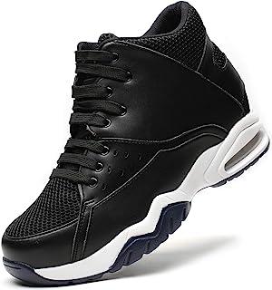CHAMARIPA 男士隐形增高高筒鞋篮球运动鞋 9.99 厘米高 329B02