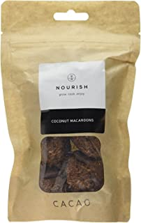Nourish Cacao Macaroons 140 g (Pack of 5)