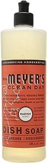 Mrs. Meyer's (梅耶太太) - 清洁日液体菜肥皂萝卜 - 16盎司