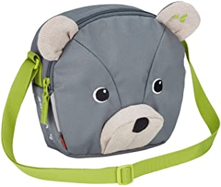 VAUDE Brummel 单肩包,灰色,儿童背包,19 厘米,Heron