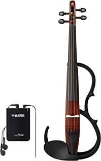 YAMAHA 雅马哈 静音小提琴 YSV104BR *适合练习的基本款 附带耳机
