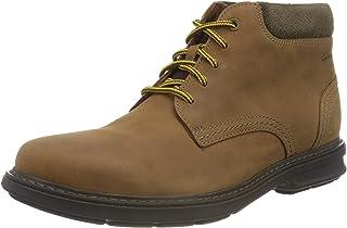 Clarks 男士 Rendell Work 半长靴 经典