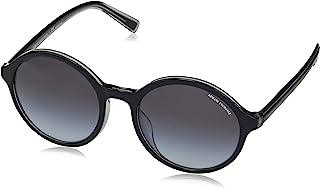 AX Armani Exchange 女式 Ax4101sf 亚洲修身圆形太阳镜