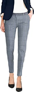 HyBrid & Company Super Comfy Flat Front Stretch Trousers Pants