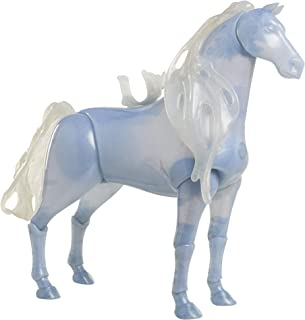 冰雪奇缘 2 Elsa Spirit Horse Nokk 娃娃尺寸发光铰接式特色精神动物带灯光和声音! 非常适合 Elsa 幼儿娃娃! 适合 3 岁以上的女孩