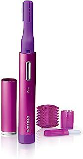 Philips 飞利浦 PrecisionPerfect 小巧精准修剪器,适用于女性,面部毛发和眉毛