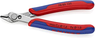 KNIPEX 工具 - 电子*刀具,INOX 钢,多元件 (7803125)