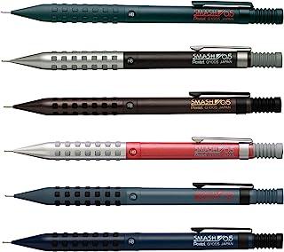 Pentel 派通 自动铅笔 Smash 彩色轴套装 AMZ-Q1005-6