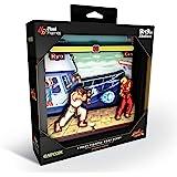 Pixel Frames Capcom 街头战斗机 - 船形场景 22.86 x 22.86 影盒艺术(小)
