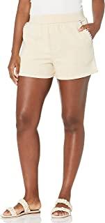 KENDALL + KYLIE 女式毯缝运动短裤