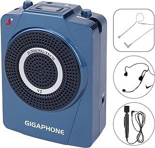 GIGAPHONE V2 40W 便携式语音放大器带麦克风