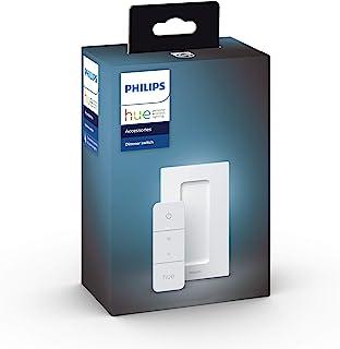 Philips 飞利浦 Hue 智能无线调光器开关 V2 ( 无需安装,Philips Hue 灯适用 )。适用于 Alexa、Google Assistant 和 Apple HomeKit