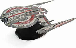 Eaglemoss 星际迷航:发现号-神舟号航空母舰,NCC-1227型,带杂志
