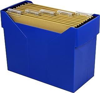Metzger & Mendle 文件盒 gefüllt, basic-blau