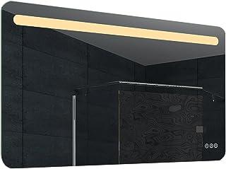 Lux-aqua LED 浴室镜 玻璃 铝 铝 120  x  65  x  3 cm MLF120X65