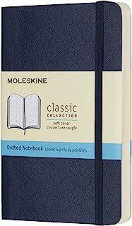 Moleskine 软面虚线宝蓝色笔记本(口袋型)
