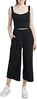BCBGeneration 女式针织罗纹九分裤