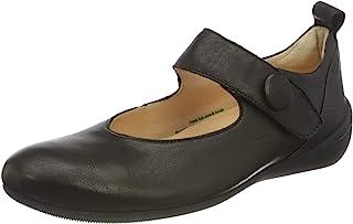 Think! 女士 Cugal_3-000234 可持续更换鞋垫 系带芭蕾舞鞋
